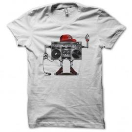 Shirt street life blanc pour homme et femme