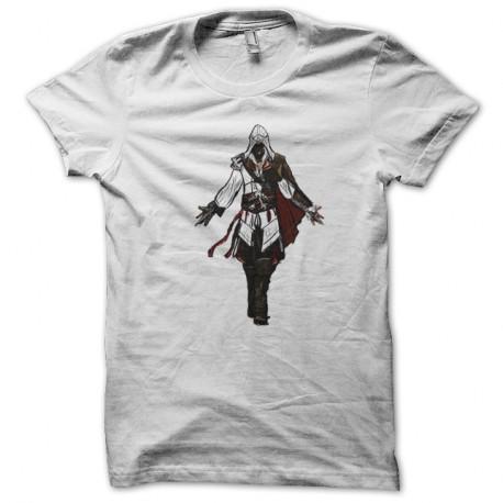 Shirt Assassins Creed blanc pour homme et femme