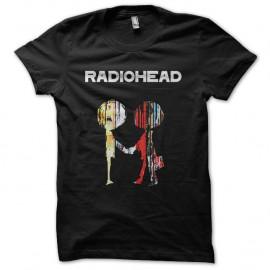 Shirt Radiohead noir pour homme et femme