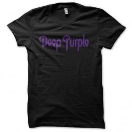 Shirt deep purple noir pour homme et femme