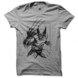 Shirt wolverine gris pour homme et femme