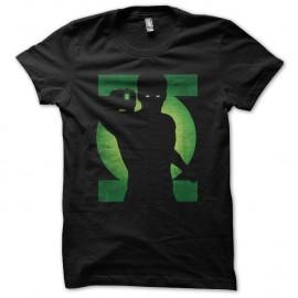 Shirt green lantern ombre noir pour homme et femme