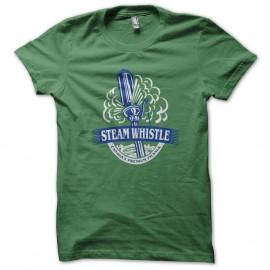 Shirt Steam whistle vert pour homme et femme