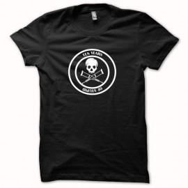 Shirt Jackass 10 years of stupid version special blanc/noir pour homme et femme