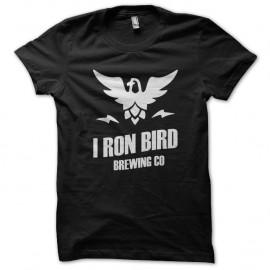 Shirt iron bird beer noir pour homme et femme