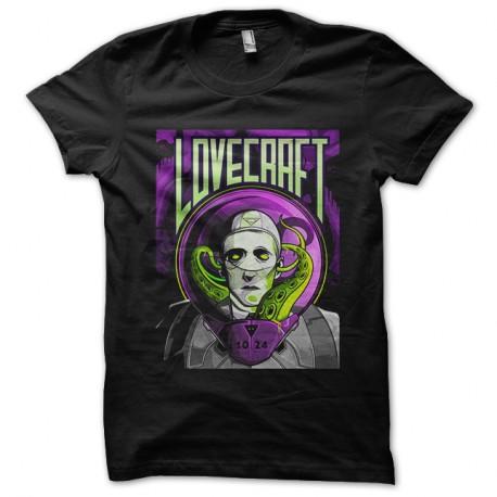 Shirt lovecraft noir pour homme et femme