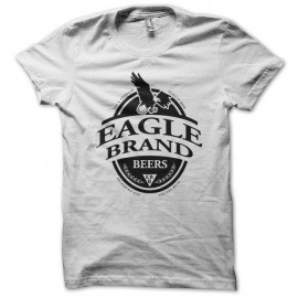 Shirt Eagle Brand beer blanc pour homme et femme