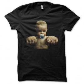 Shirt baby tatoo love hate noir pour homme et femme