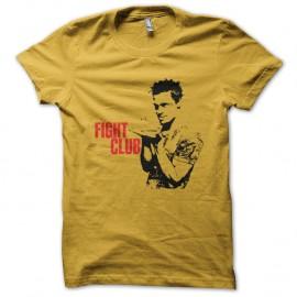 Shirt Fight Club brad pitt jaune pour homme et femme
