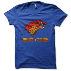 Shirt house of stark bleu pour homme et femme