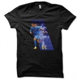 Shirt cristiano ronaldo noir pour homme et femme