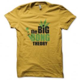 Shirt the big bong theory jaune pour homme et femme