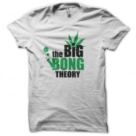 Shirt the big bong theory blanc pour homme et femme