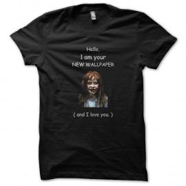 Shirt the exorcist wallpaper noir pour homme et femme