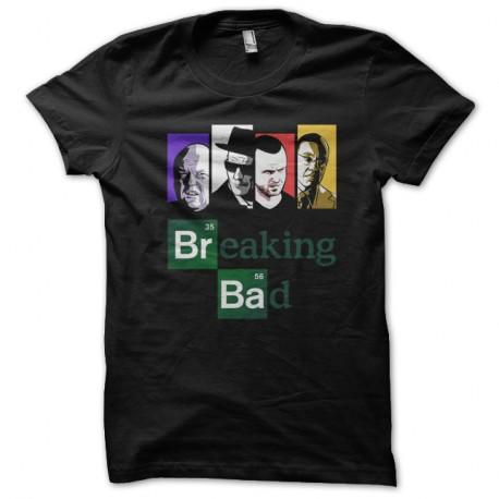 Shirt Breaking Bad black pour homme et femme