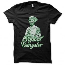 Shirt abraham lincoln gangsta thug life noir pour homme et femme