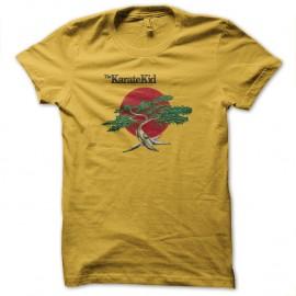 Shirt karate kid bonzai jaune pour homme et femme