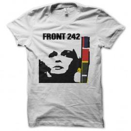 Shirt front 242 blanc pour homme et femme