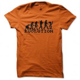 Shirt ufo évolution orange pour homme et femme