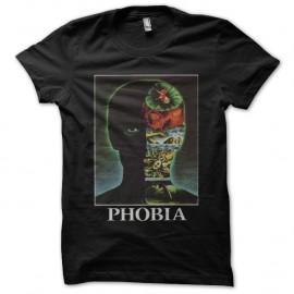 Shirt Phobia noir pour homme et femme