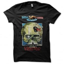 Shirt Wendigo noir pour homme et femme