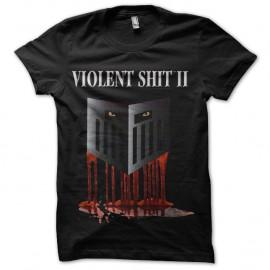 Shirt Violent shit 2 noir pour homme et femme