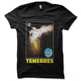 Shirt Tenebres noir pour homme et femme