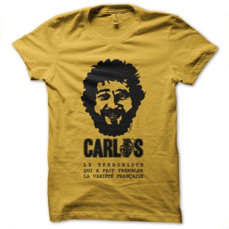 * Carlos le terroriste qui a fait trembler la variété française Jaune pour homme et femme
