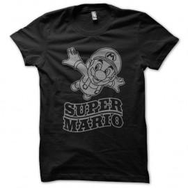 Shirt super mario noir pour homme et femme