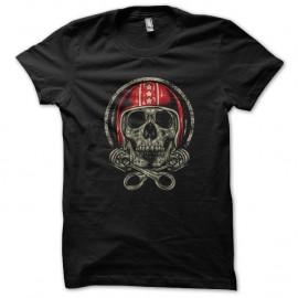 Shirt Skater skull noir pour homme et femme