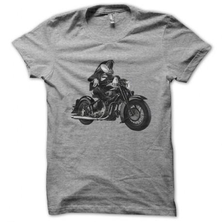 Shirt Bugs Bunny biker gris pour homme et femme