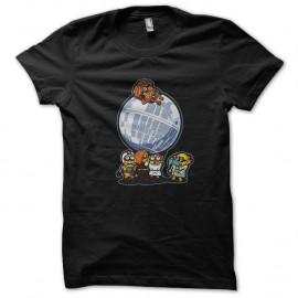 Shirt minion star wars noir pour homme et femme