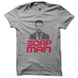 Shirt soap man fight club gris pour homme et femme
