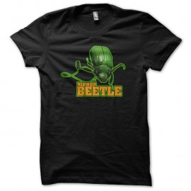 Shirt hiphop beetle noir pour homme et femme