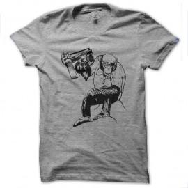 Shirt singe et son poste gris pour homme et femme