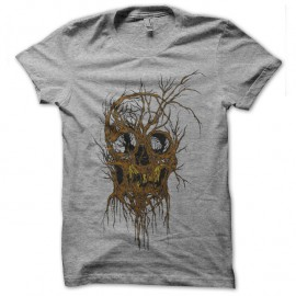 Shirt TREESKULL gris pour homme et femme