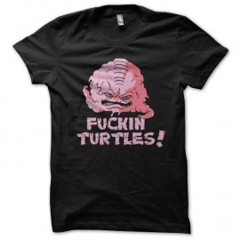 Shirt krang des tortues ninja noir pour homme et femme