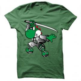 Shirt yoshimitsu vert pour homme et femme