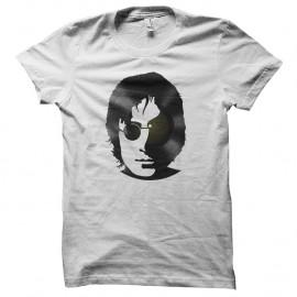Shirt john lennon en vinyl blanc pour homme et femme
