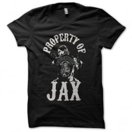 Shirt property of jax noir pour homme et femme