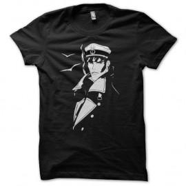 Shirt corto maltese noir pour homme et femme