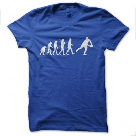 Shirt rugby evolution bleu pour homme et femme