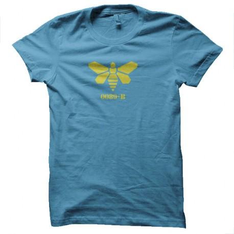 Shirt Golden moth chemical logo turquoise pour homme et femme