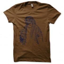 Shirt le duc lebowski marron pour homme et femme