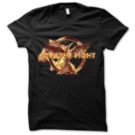 Shirt Hunger Games Fight noir pour homme et femme