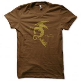Shirt smog fire marron pour homme et femme