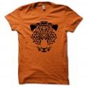 Shirt léopard tigre cheetah swag style orange pour homme et femme