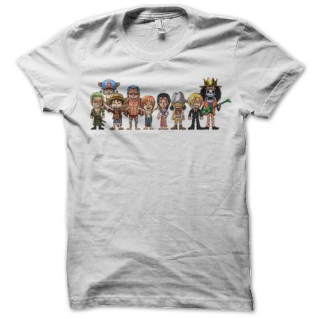 T-shirt one piece baby pixel white