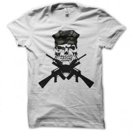 Shirt m16 cross blanc pour homme et femme