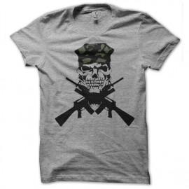 Shirt m16 cross gris pour homme et femme